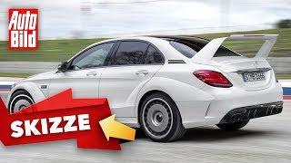 Mercedes-AMG C 63 Evo II (2020): Skizze - Design - Infos by Auto Bild