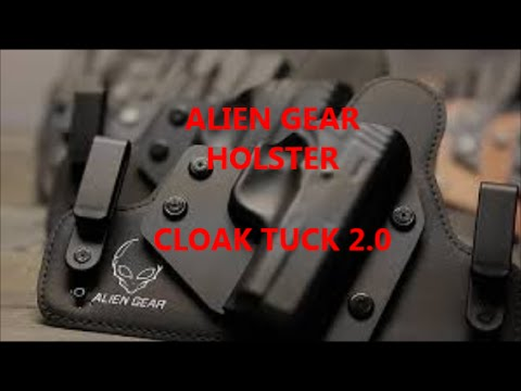 Alien Gear Holster Cloak Tuck 2.0 IWB Product Review CC Concealed Carry Conscealment