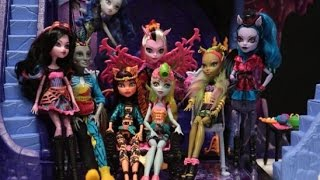 Monster High Freaky Fusion Stop Motion!