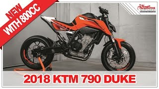 4. IT'S NEW!! 2018 KTM 790 Duke Price Specification Review