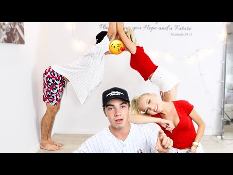 COUPLES YOGA CHALLENGE W/ JORDYN JONES...