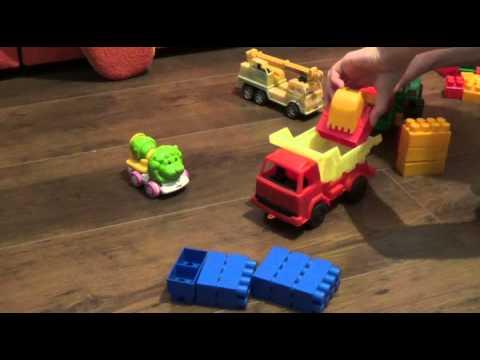 Развивающие мультфильмы картоон. Учим цвета с грузовичком Максом