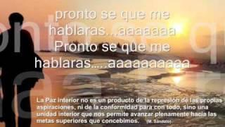 El Sonido Del Silencio - Alex Campos (+ Lyrics)