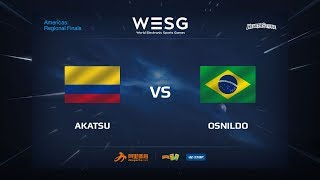 Akatsu vs Osnildo, game 1