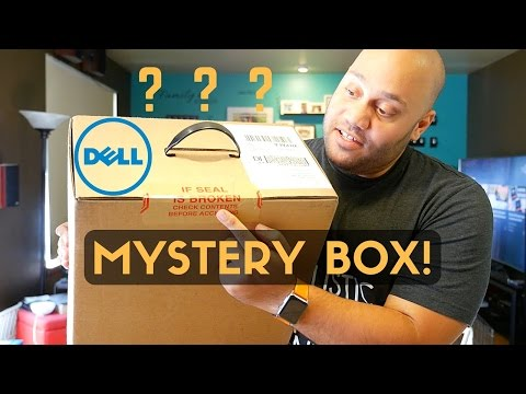 , title : 'MYSTERY BOX?!?! Dell XPS 13 + Accessories Unboxing!'