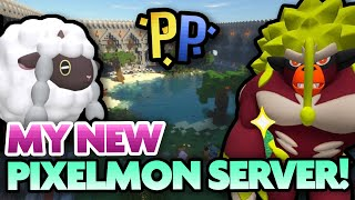 MY NEW PIXELMON SERVER! How to Join and Play Pixelmon! by aDrive