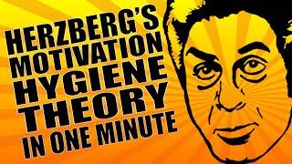 Motivation - Herzberg's Theory