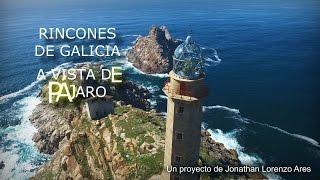 Rincones de Galicia a vista de pájaro