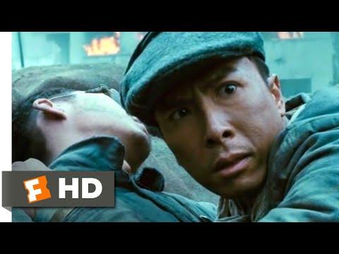 Legend of the Fist (2010) - Knife vs. Machine Gun Scene (1/10)   Movieclips