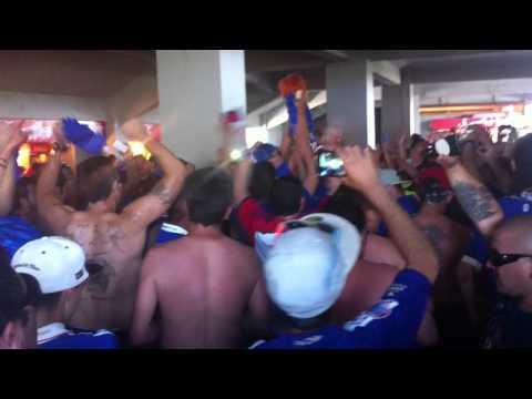 Video - Los de abajo en el túnel de la norte - final 2014 u de Chile vs calera - Los de Abajo - Universidad de Chile - La U - Chile