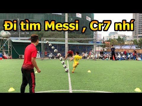 Thử Thách Bóng Đá DKP đi tìm các Messi , Ronaldo nhí 2019 với cựu đội trưởng ĐT Việt Nam Như Thành - Thời lượng: 10 phút.