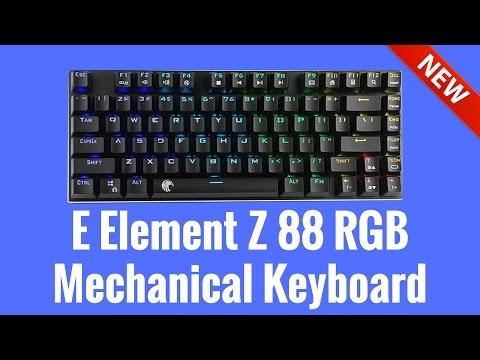 E Element Z 88 RGB Mechanical Keyboard