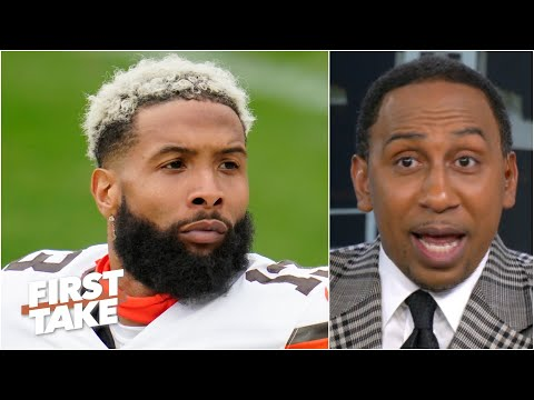 'Odell Beckham Jr. wants to get the hell up out of' Cleveland - Stephen A. | First Take