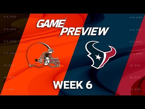 Video: Cleveland Browns vs. Houston Texans | Week 6 Game Preview | NFL