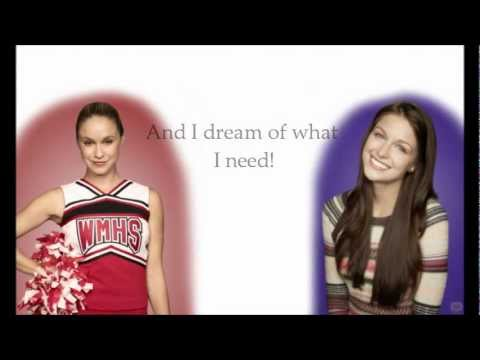 Glee Cast- Holding Out For a Hero (With Lyrics!) (видео)