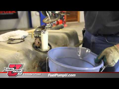How to install Fuel Pump E2064MN in 1990-1997 Ford F150 Trucks