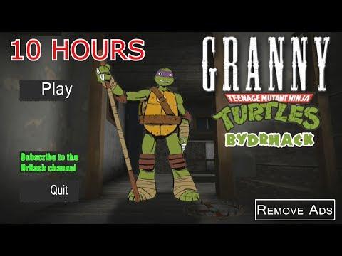 Granny 10 hours play | Teenage Mutant Ninja TURTLES [🔴LIVE] Marathon GRANNY