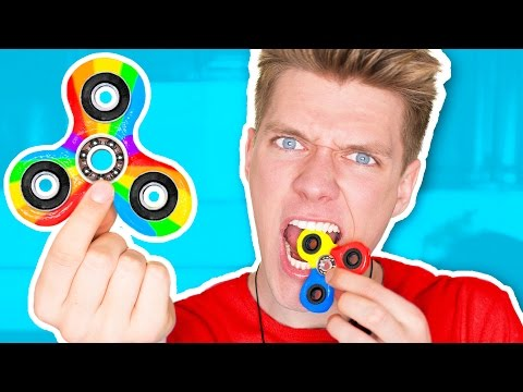DIY Candy Fidget Spinners YOU CAN EAT!!!!!!! Rare Edible Fidget Spinner Toys & Tricks (видео)