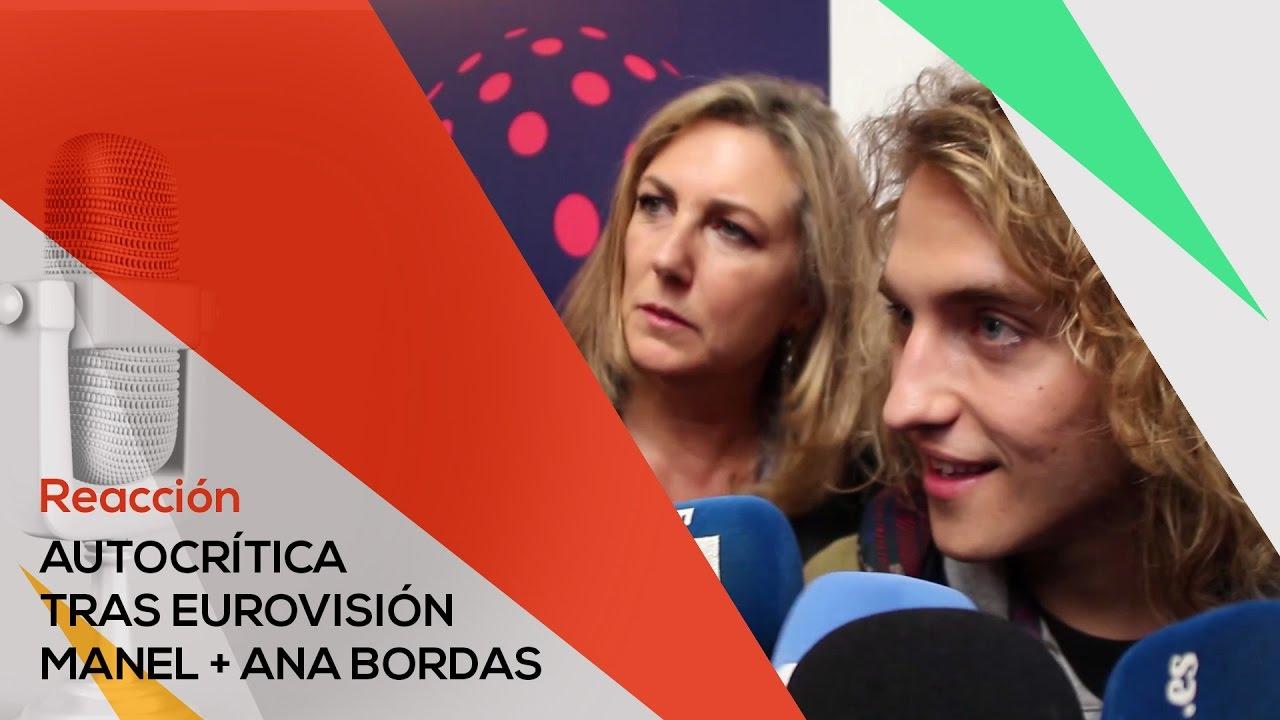 Manel Navarro y Ana Bordas hacen autocrítica tras Eurovisión