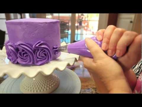 Розочки для тортов как сделать