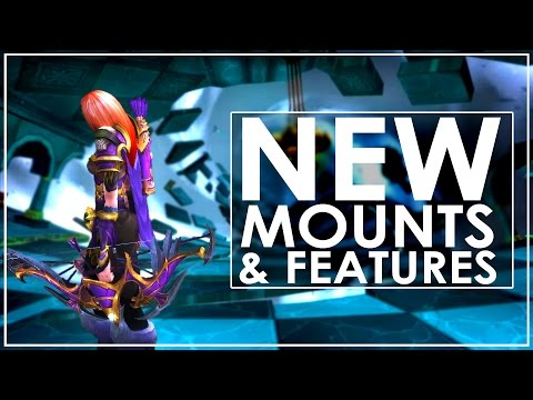 The 7 New Mounts of Patch 7.1 & 10 Lesser Known Features (видео)