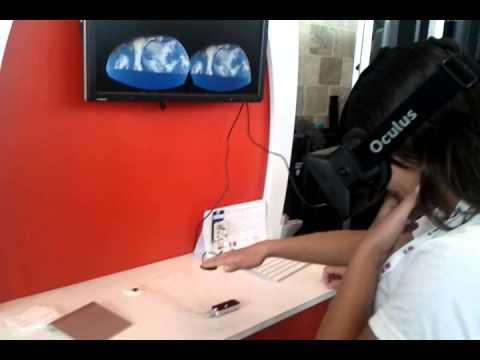 Leap Motion + Oculus Rift, Google I/O 2013