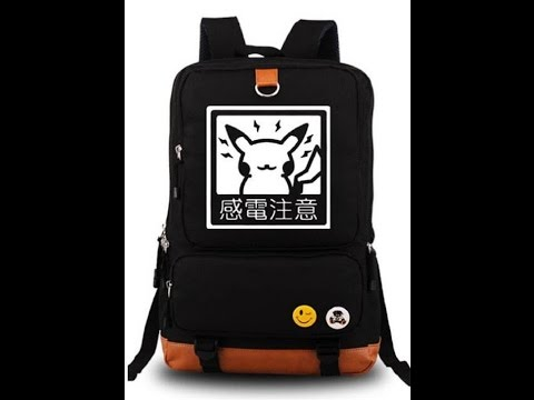 Siawasey Anime Pokemon Pikachu Cosplay Luminous Backpacks Shoulder School Bag Reviews