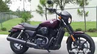 7. 2015 Harley Davidson Liquid Water Cooled Street 500 & 750 Motorcycles