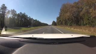 Macclenny (FL) United States  city photo : DASH CAM FROM BALDWIN FLORIDA TO MACCLENNY FLORIDA ON I 10 GO PRO