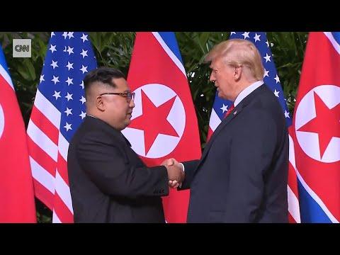 Historischer Gipfel in Singapur: Trump und Kim ...