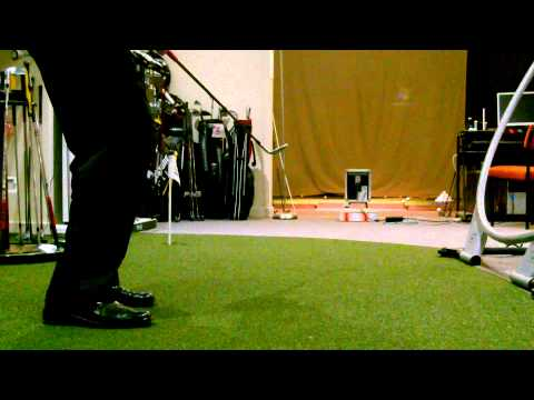 Chipping Drill using the 'Pill' Putting Aid