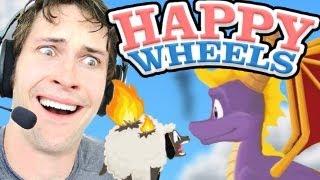 Happy Wheels - FLYING A DRAGON!!