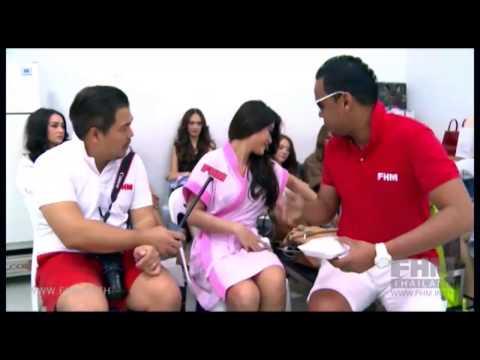 บุกเบื้องหลังกอง FHM GND 2014 by 138.com (видео)