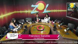 Francisco Sanchis comenta las cosas que trae la 12.ª dominicana moda en la Fortaleza Ozama parte2