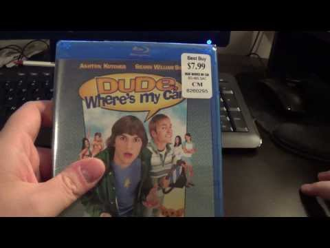 Dude Where's My Car? Blu Ray Unboxing
