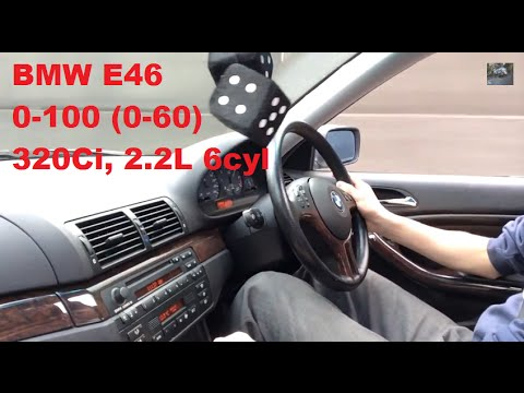 BMW 320Ci E46 / 0-100 (0-60) Acceleration + Exhaust Sound