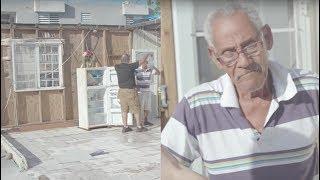 Video Elderly Puerto Rican Man's Kitchen Is Now Outdoors MP3, 3GP, MP4, WEBM, AVI, FLV November 2017