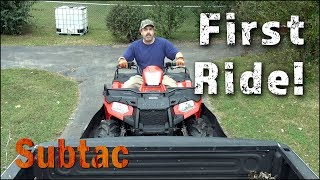 3. 2017 Polaris Sportsman 570 First Ride At The Land
