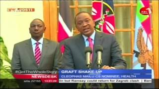 Kenyans react differently following cabinet reshuffle