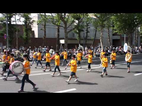 旭川市立広陵中学校・第82回北海道音楽大行進(2014年)