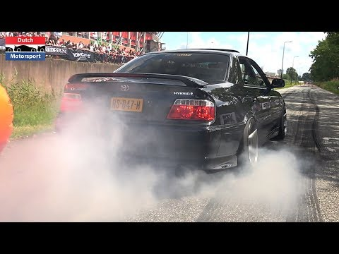 Cars Leaving Cars & Coffee Twente 2019! - Chaser, PD650i, Supra, Performante, Skyline, F12,...