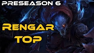 Playing Rengar Top! Stay updated by following me on Social Media: Twitter: https://twitter.com/C00LStoryJoe Facebook: https://www.facebook.com/c00lstoryjoe T...