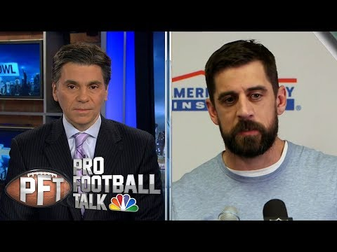 Video: Mike McCarthy's play calling limiting Aaron Rodgers | Pro Football Talk | NBC Sports