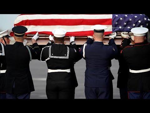 USA: Abschied von US-Altpräsident Bush († 94) mit einem Staatsakt