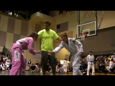 mixed judo girl beats boy