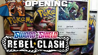 An UNBELIEVABLE Blister! Opening a Rayquaza Rebel Clash Blister Pack of Pokemon Cards! by Flammable Lizard