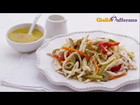 Tasty chicken salad – summer recipe