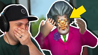 Video I Made A Spider Attack Hello Neighbor's Sister! | Scary Teacher 3D MP3, 3GP, MP4, WEBM, AVI, FLV September 2019
