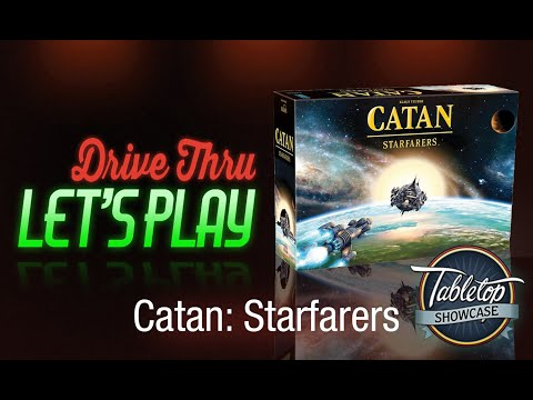 Catan: Starfarers Let's Play and Strategy Review - Presented by Tabletop Showcase