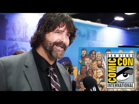 Mick Foley makes a big announcement at Comic-Con International 2013 in San Diego